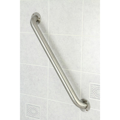 "Kingston Brass Grab Bars - Satin Nickel 24"" Commercial Grade Grab Bar GB1224ES"