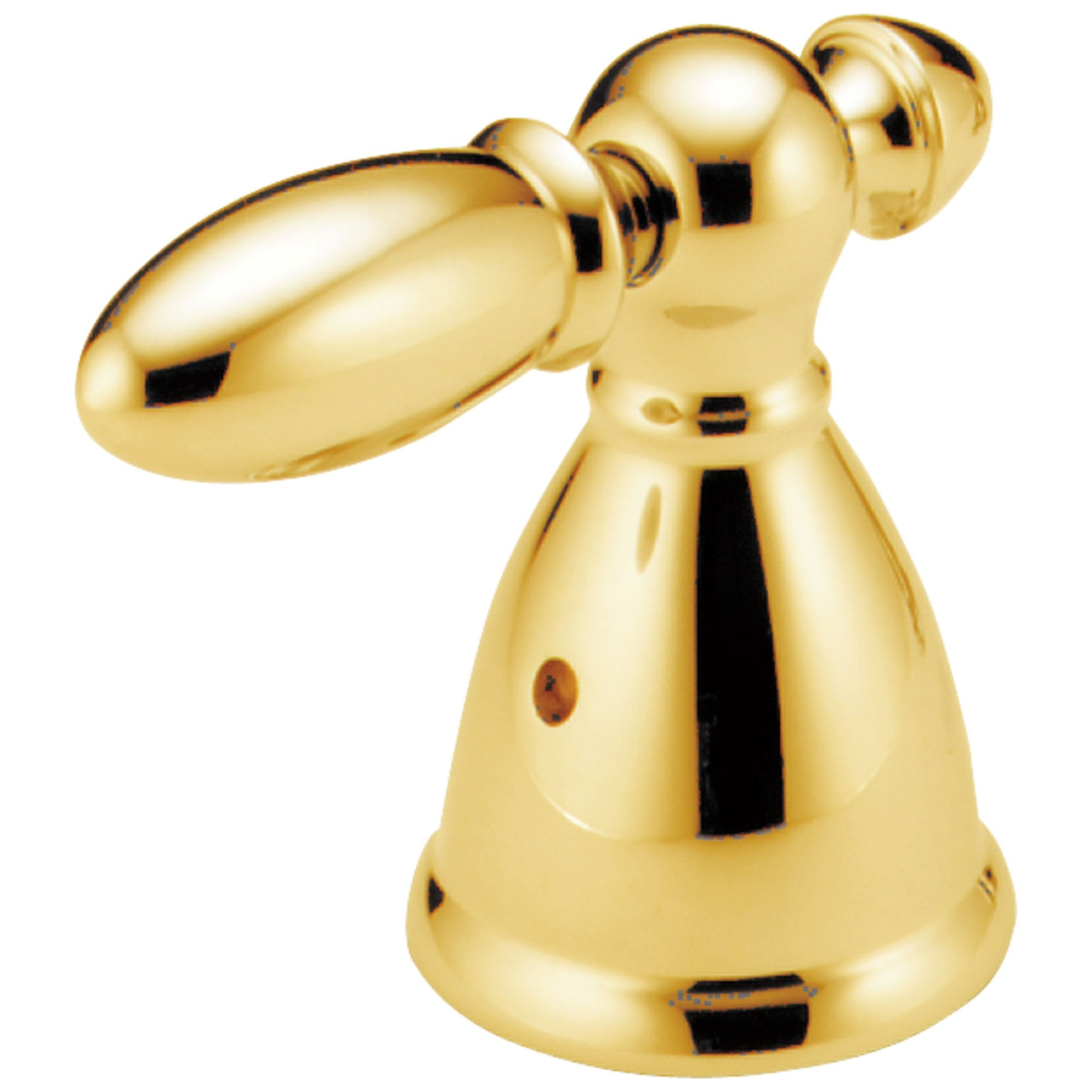 Delta Victorian Collection Polished Brass Finish Diverter / Transfer Valve Metal Lever Handle - Quantity 1 Included DH516PB