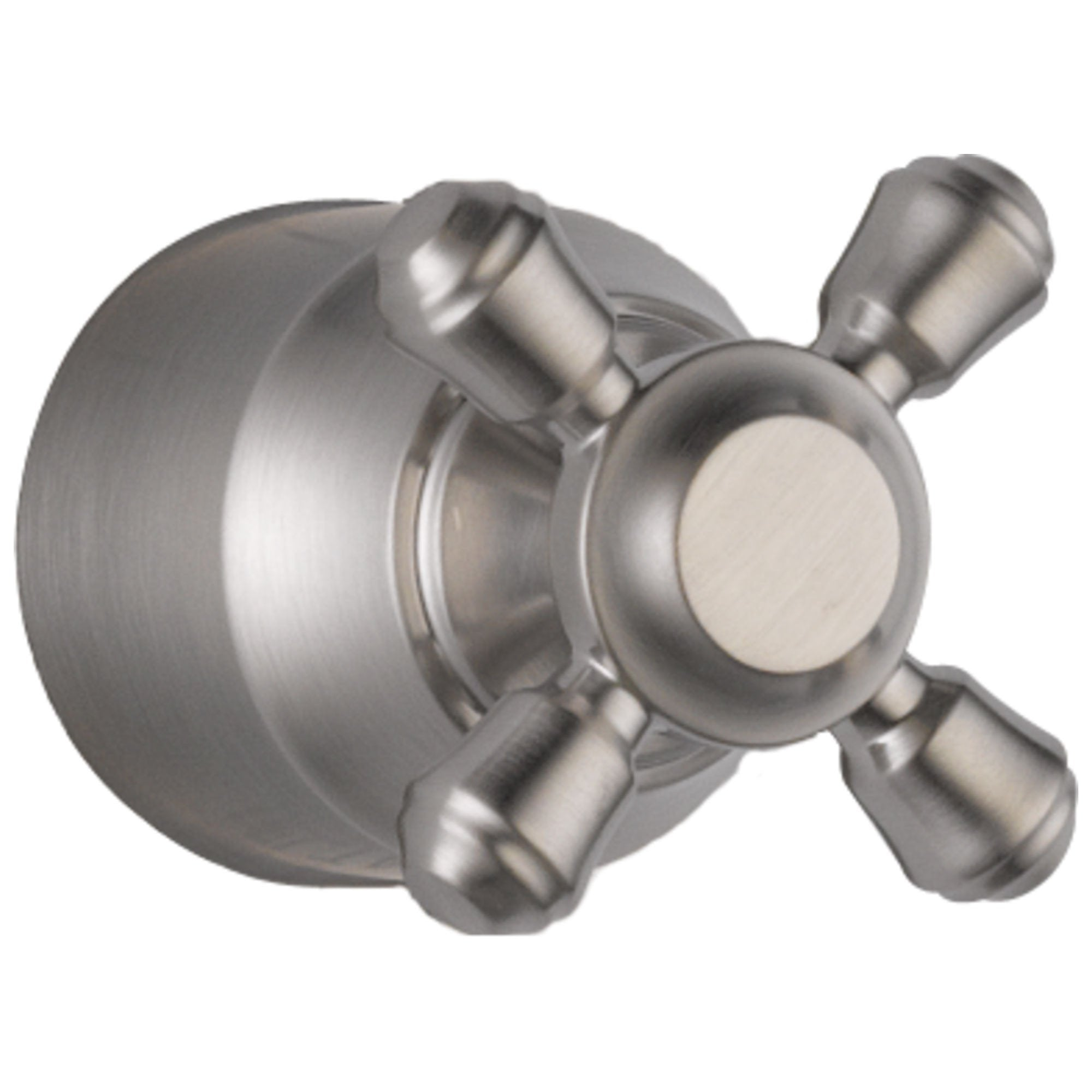 Delta Cassidy Collection Stainless Steel Finish Diverter / Transfer Valve Cross Handle - Quantity 1 Included 579627