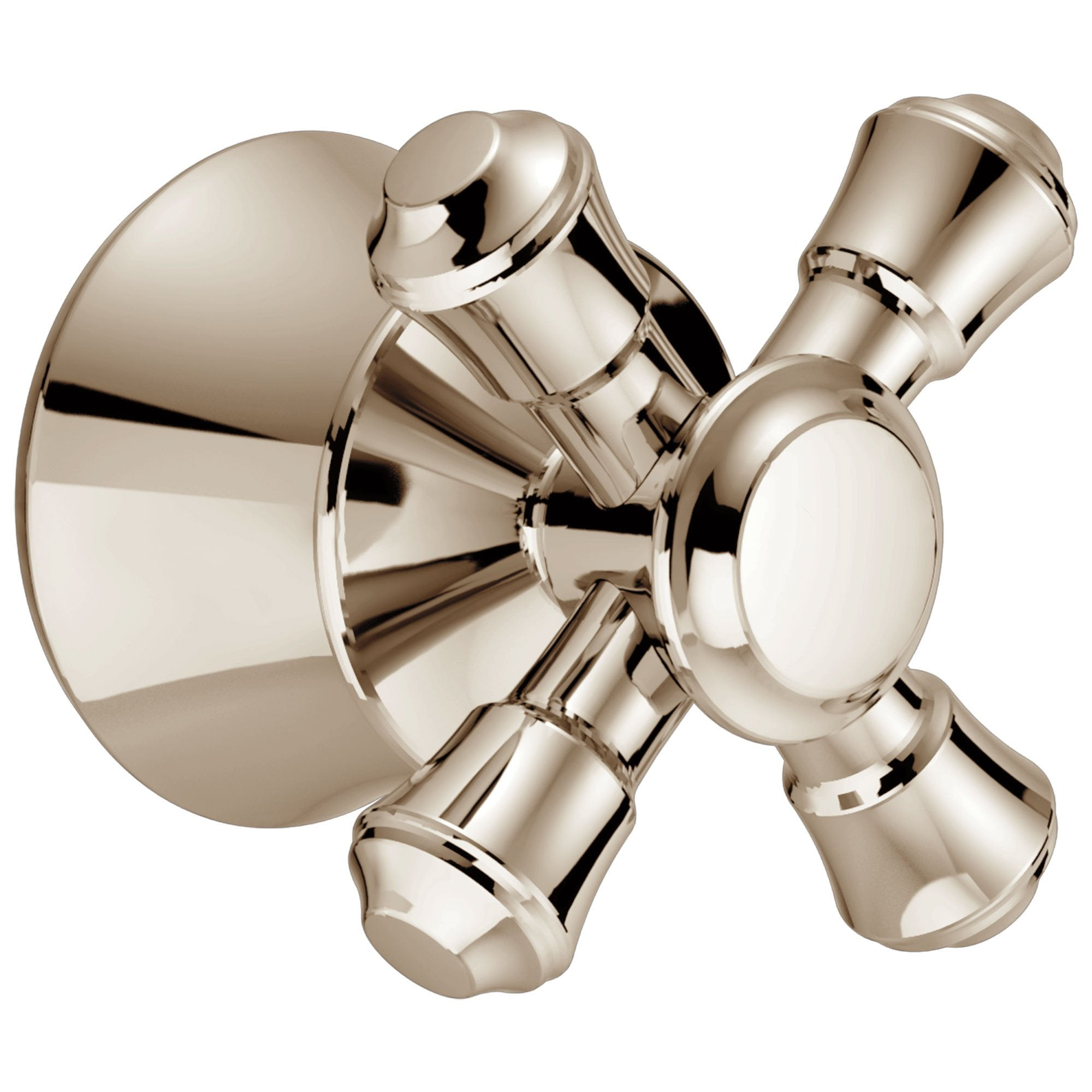 Delta Cassidy Collection Polished Nickel Finish Tub and Shower Cross Handle 579664