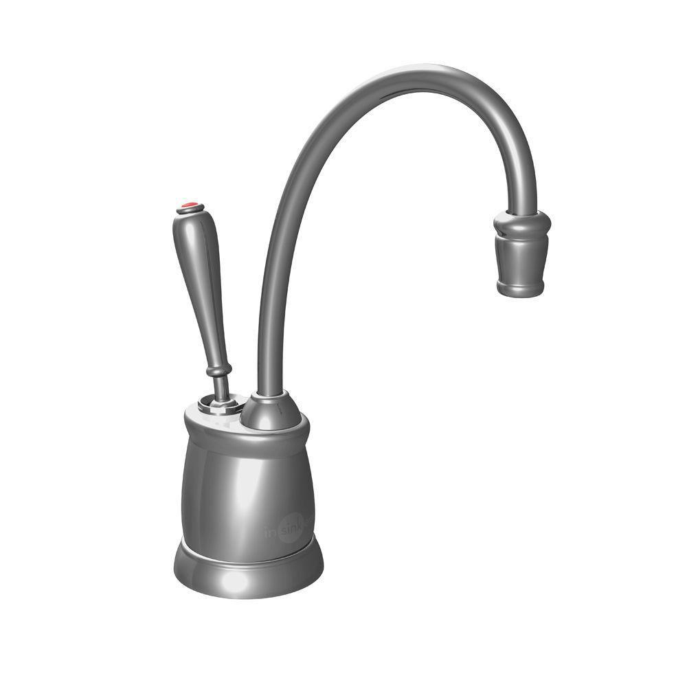 InSinkErator Indulge Tuscan Satin Nickel Instant Hot Water Dispenser-Faucet Only 358701