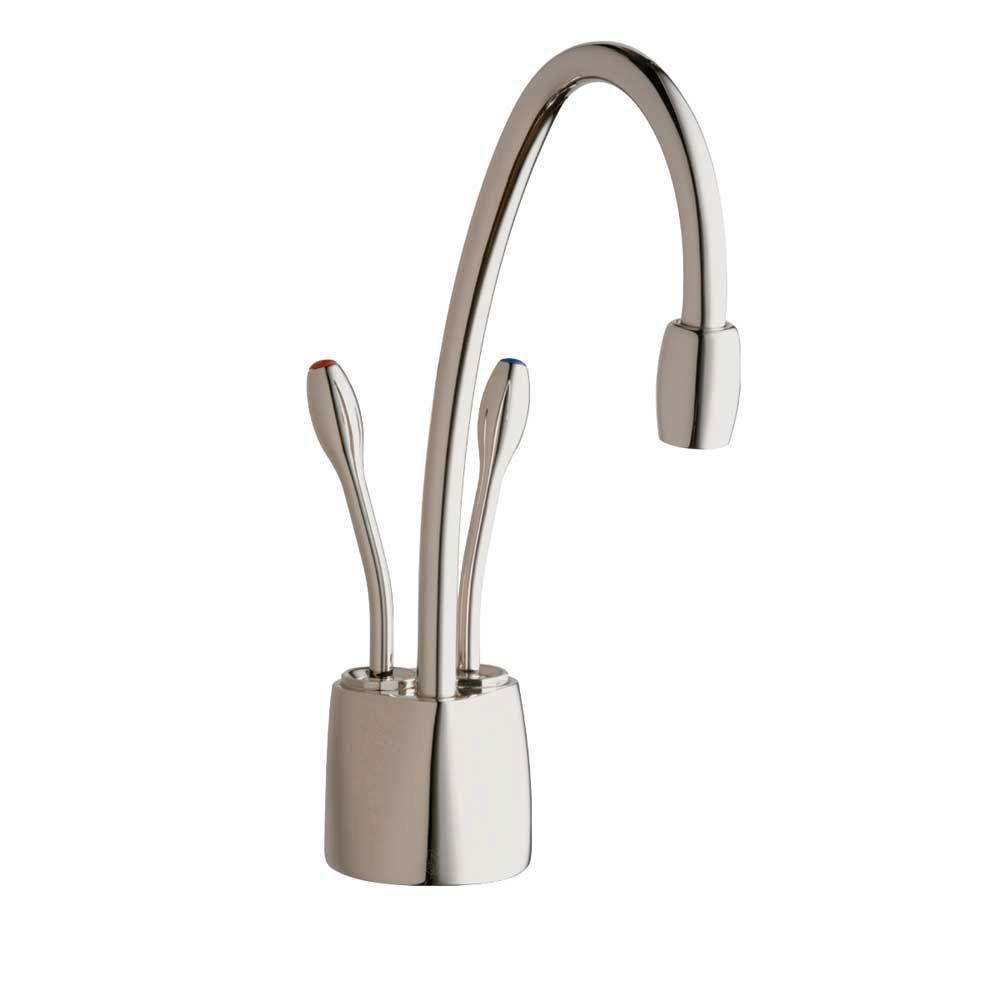 InSinkErator Indulge Contemporary Polished Nickel Instant Hot/Cool Water Dispenser-Faucet Only 719549