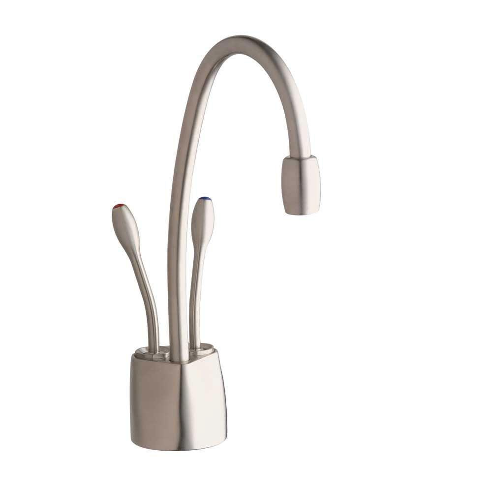 InSinkErator Indulge Contemporary Satin Nickel Instant Hot/Cool Water Dispenser-Faucet Only 719553