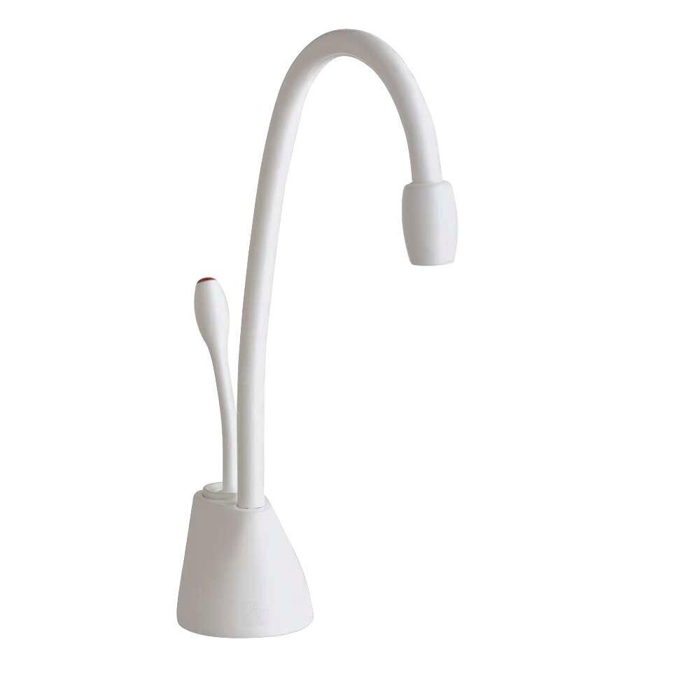 InSinkErator Indulge Contemporary White Instant Hot Water Dispenser-Faucet Only 719589