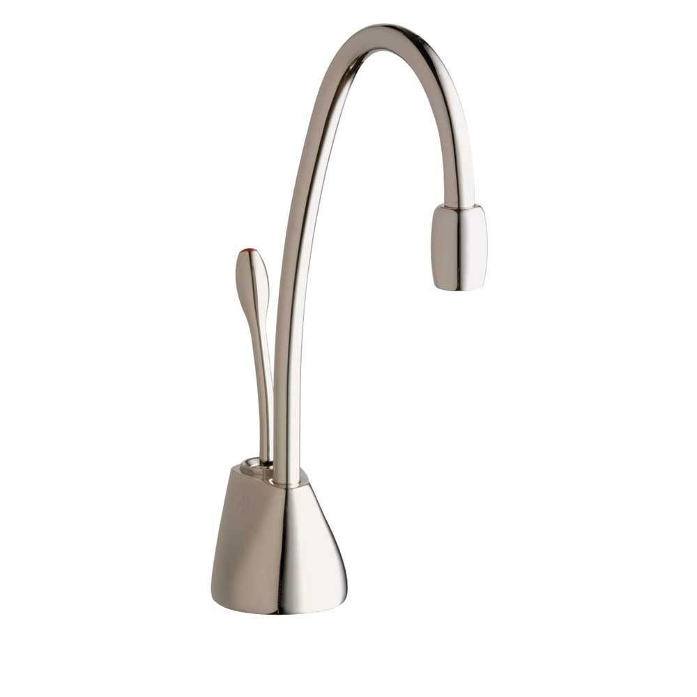 InSinkErator Indulge Contemporary Polished Nickel Instant Hot Water Dispenser-Faucet Only 719597