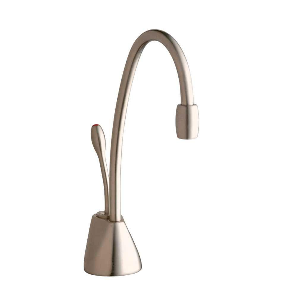 InSinkErator Indulge Contemporary Satin Nickel Instant Hot Water Dispenser-Faucet Only 719609