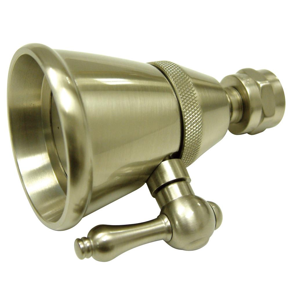 Satin Nickel Shower Heads Adjustable Spray Shower Head K132C8