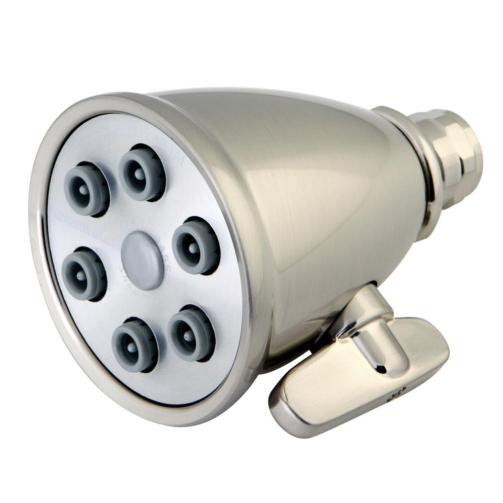 Bathroom fixtures Satin Nickel 6 Jet Adjustable Spray Shower Head K138A8