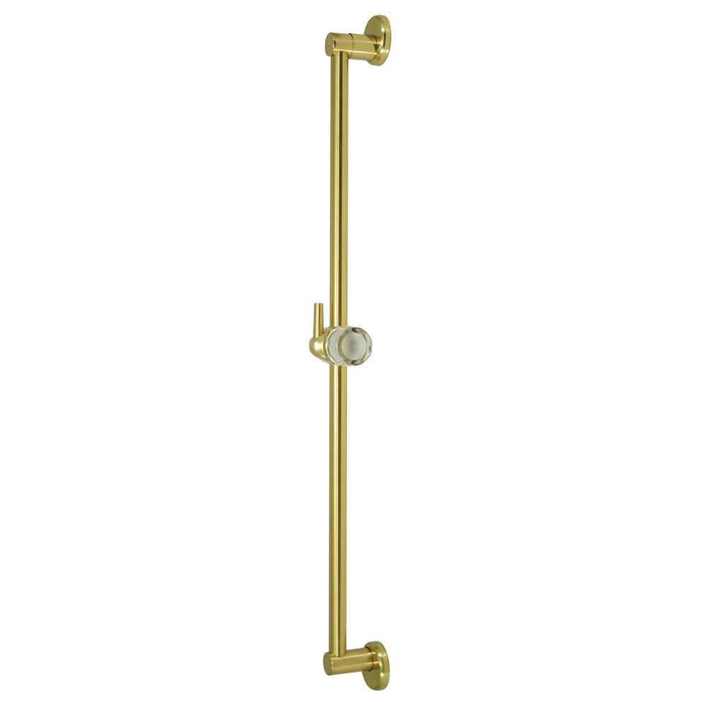 "Kingston Bathroom Accessories Polished Brass 24"" Brass Slide Bar w/ Pin K180A2"