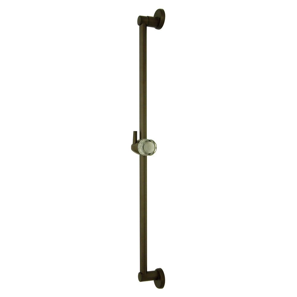 "Kingston Brass Bathroom Accessories Oil Rubbed Bronze 24"" Brass Slide Bar K180A5"
