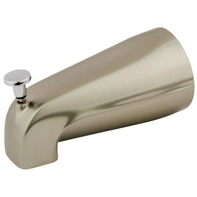 "Kingston Bathroom Accessories Chrome Made to Match 5"" Diverter Tub Spout K188A7"
