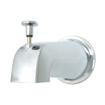 "Kingston Bathroom Accessories Chrome 5"" Diverter Tub Spout with Flange K188E1"
