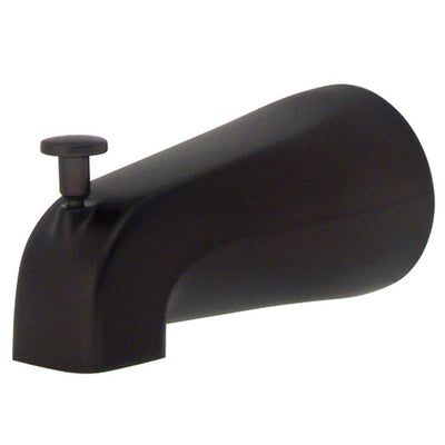 "Kingston Bath Accessory Oil Rubbed Bronze 5"" Zinc Diverter Tub Spout K189A5"