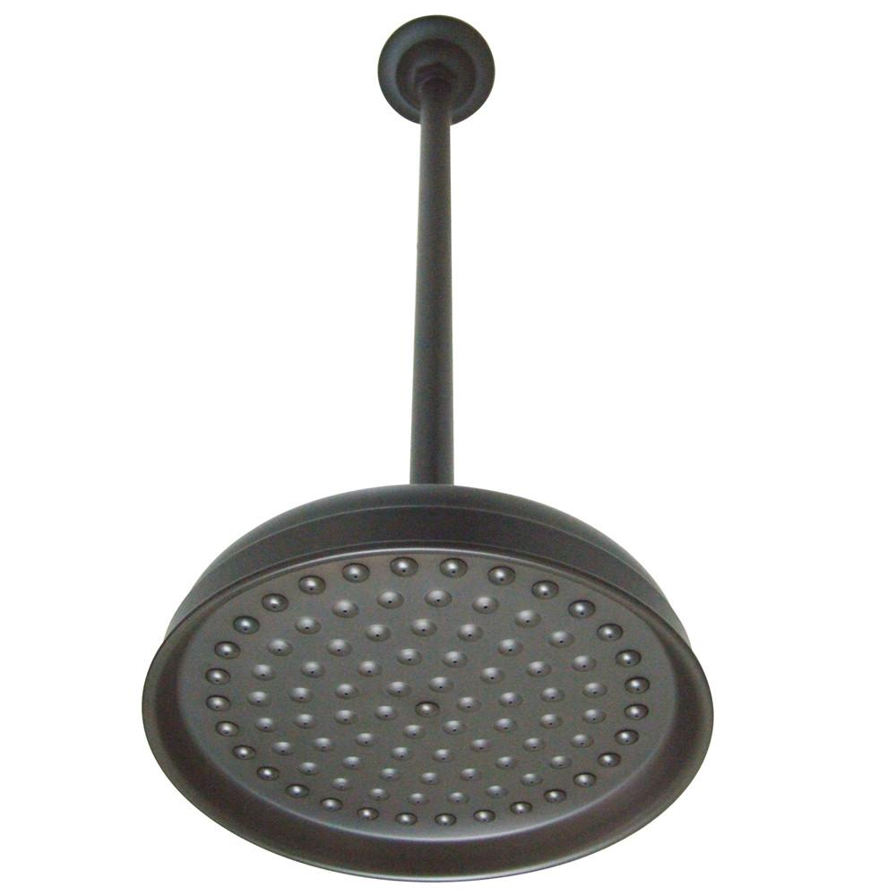 "Oil Rubbed Bronze Large 10"" Rain drop Shower Head with Shower arm K225K25"