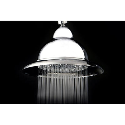 "Bathroom fixtures Chrome Shower Heads 6"" Vintage style Shower head K306C1"