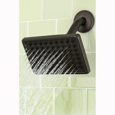 "Oil Rubbed Bronze Shower Heads Large 6"" Square Shower Head K406A5"