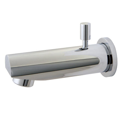 "Kingston Brass Bathroom Accessories Chrome Concord 6"" Diverter Tub Spout K8184A1"