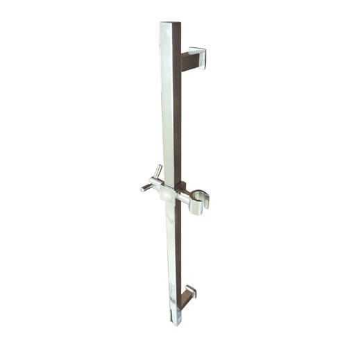 "Kingston Brass Bathroom Accessories Chrome 22"" Square Brass Slide Bar K8241M1"