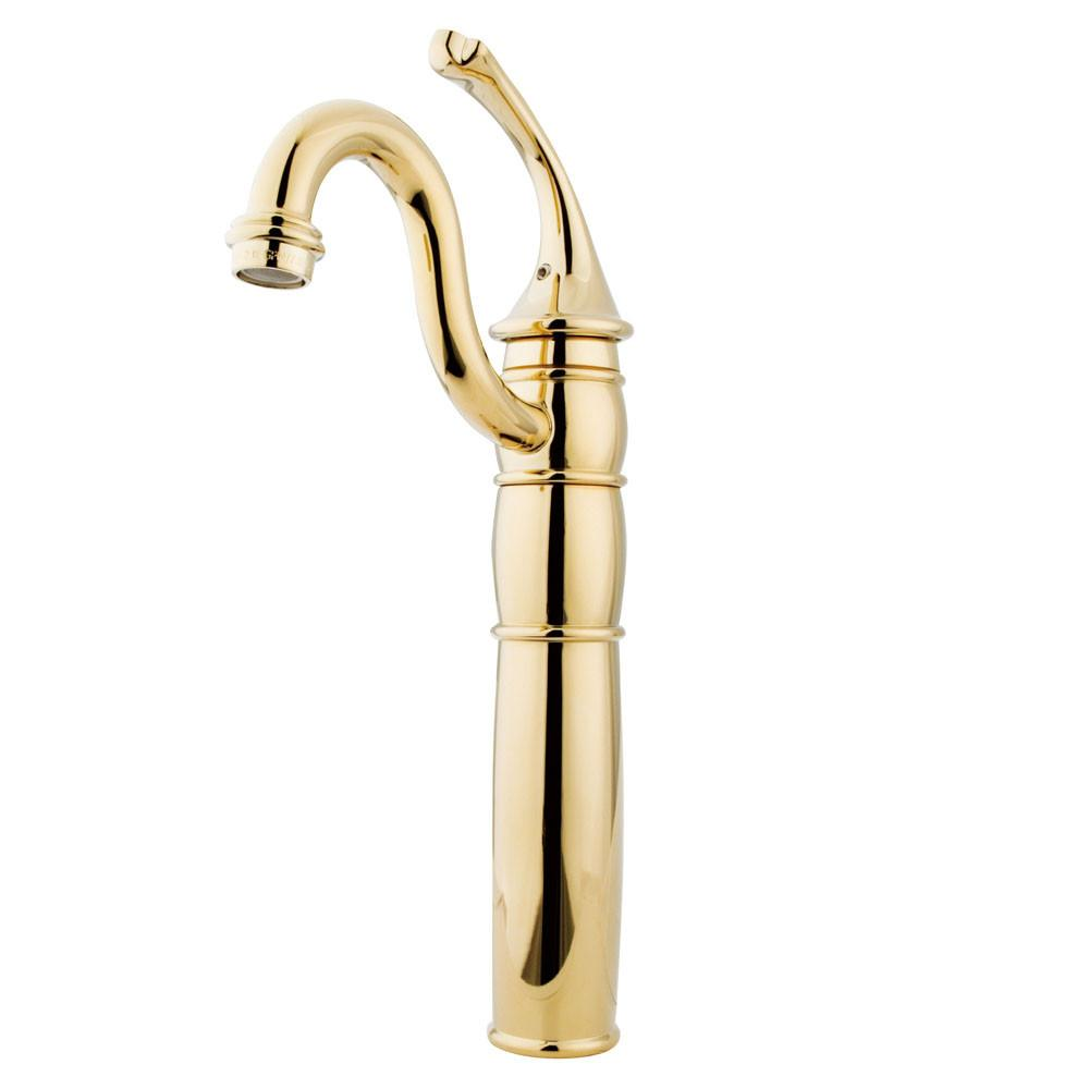 Kingston Polished Brass Georgian vessel sink bathroom lavatory faucet KB1422GL