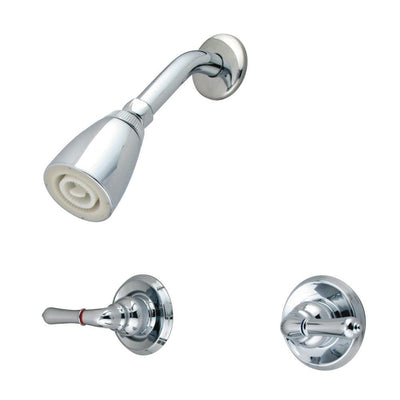 Kingston Brass Magellan Chrome Two Handle Shower Only Faucet KB241SO