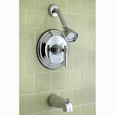 Kingston Brass Chrome Single Handle Tub & Shower Combination Faucet KB2631ML