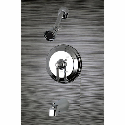 Kingston Brass Chrome Templeton Tub & Shower Combination Faucet KB2631TL