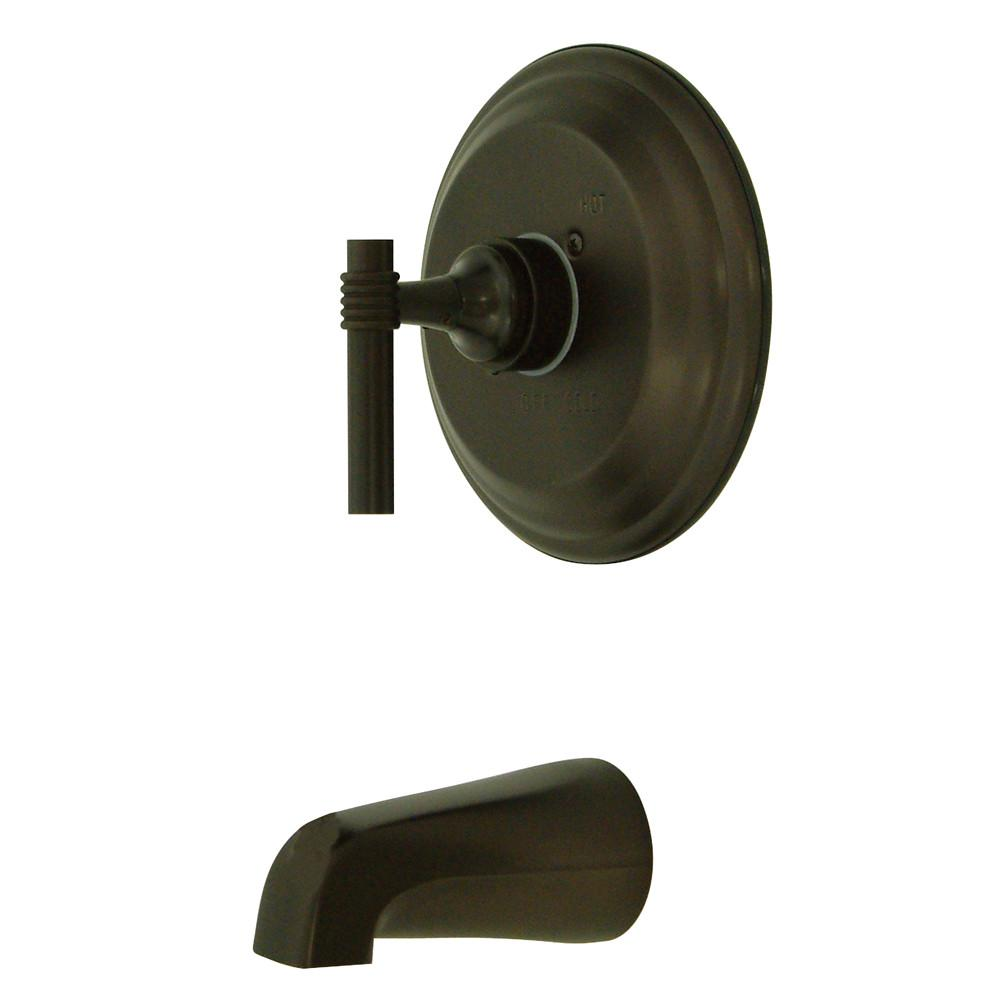 Kingston Brass Milano Oil Rubbed Bronze Single Handle Tub Only Faucet KB2635MLTO
