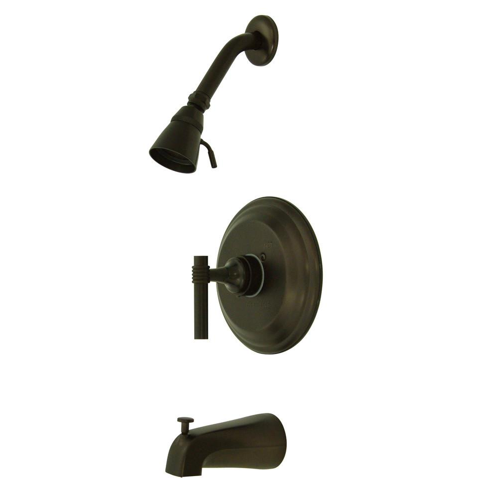 Oil Rubbed Bronze Single Handle Tub and Shower Combination Faucet KB2635ML