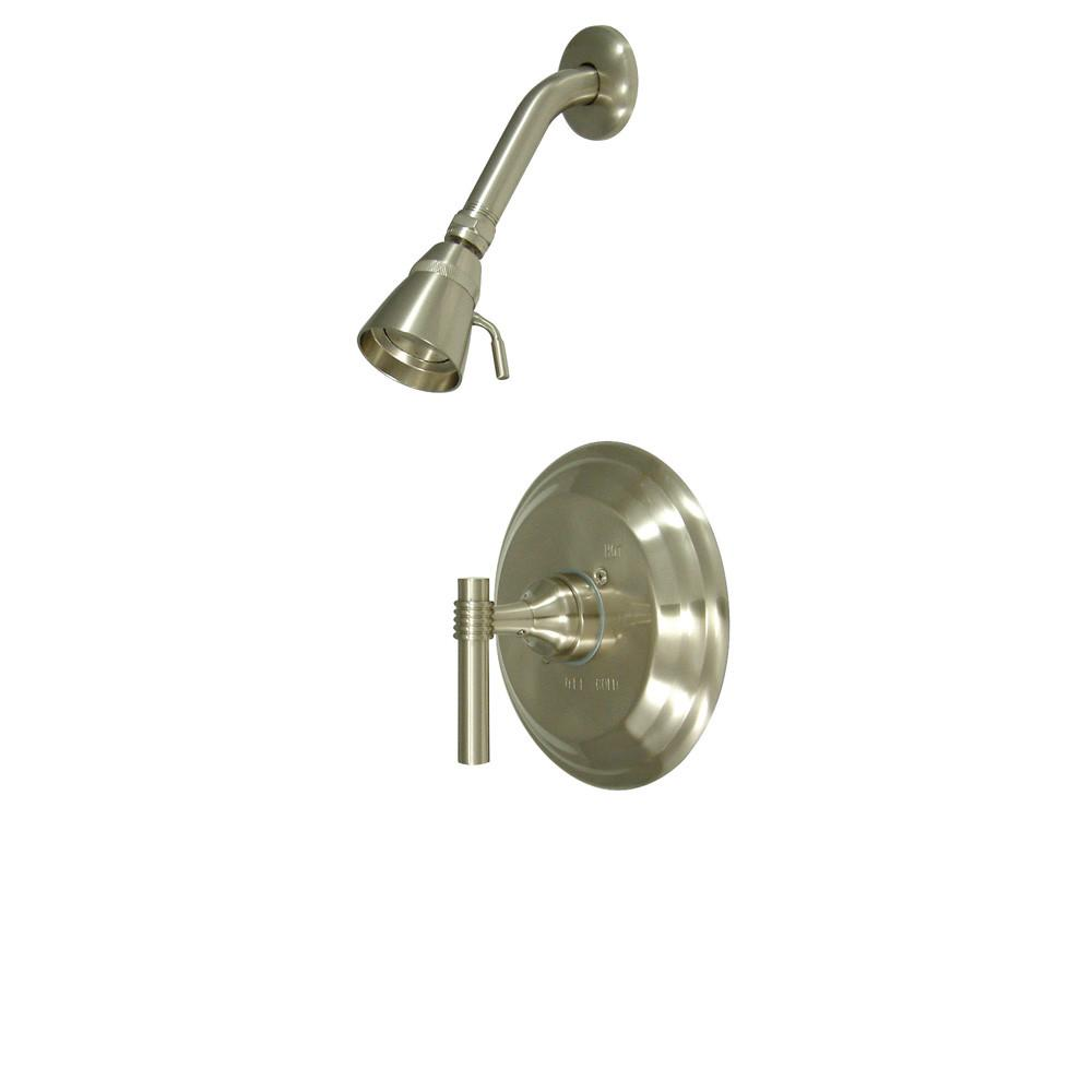 Kingston Brass Milano Satin Nickel Single Handle Shower Only Faucet KB2638MLSO