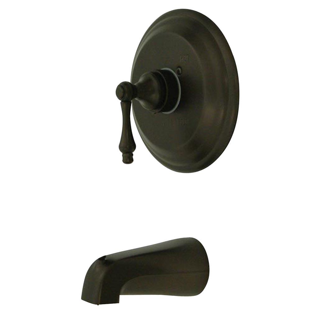 Kingston Vintage Oil Rubbed Bronze Single Handle Tub Only Faucet KB3635ALTO