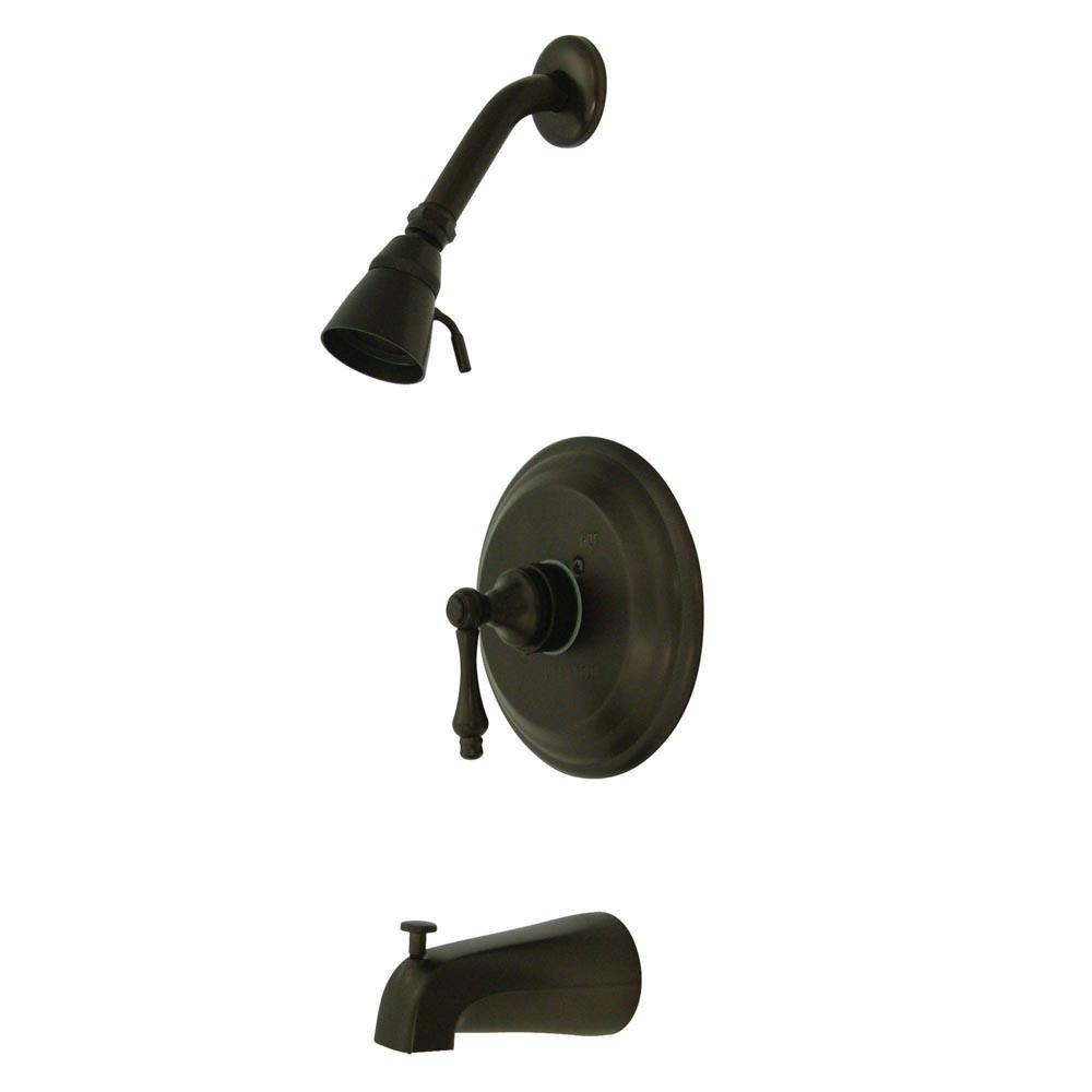 Oil Rubbed Bronze Single Handle Tub and Shower Combination Faucet KB3635AL