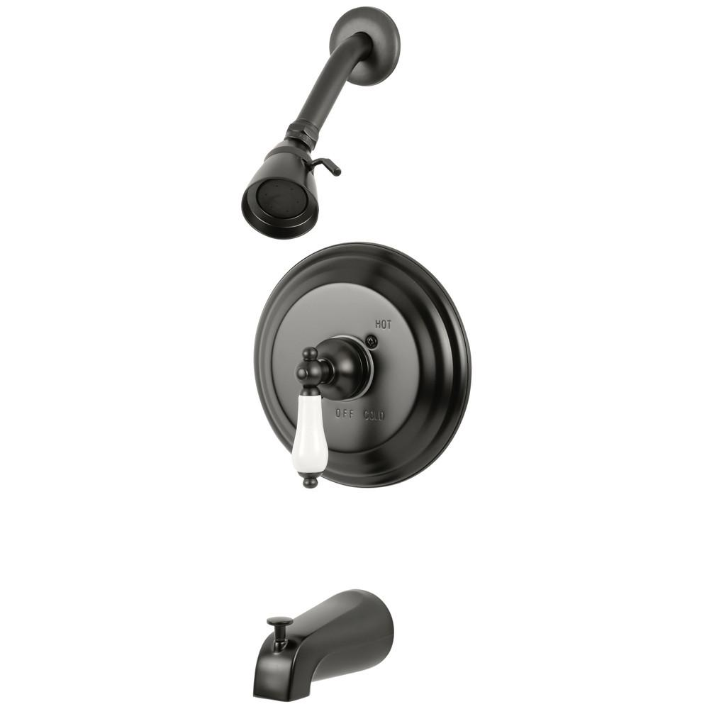 Oil Rubbed Bronze Single Handle Tub and Shower Combination Faucet KB3635PL