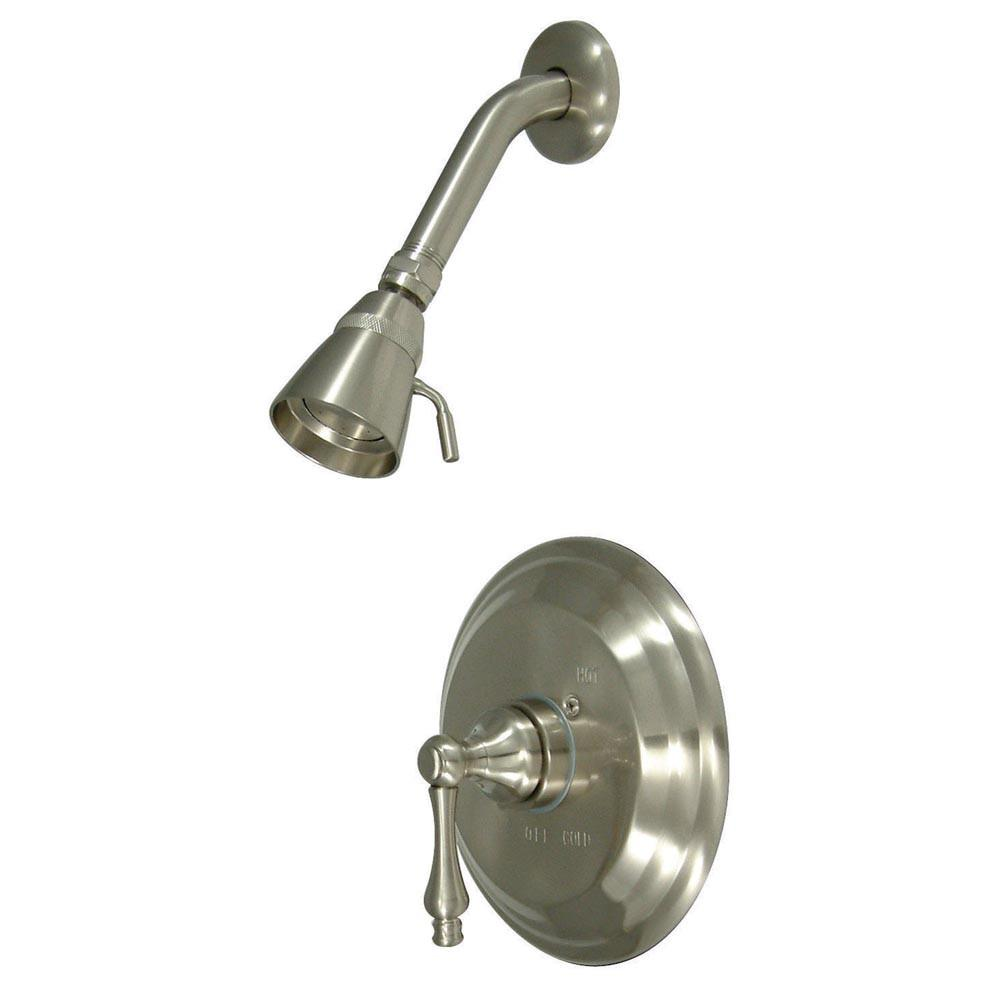 Kingston Brass Vintage Satin Nickel Single Handle Shower Only Faucet KB3638ALSO