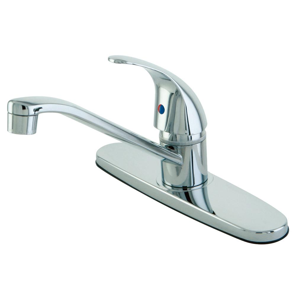 Kingston Brass Chrome Single Handle Kitchen Faucet KB6570LL