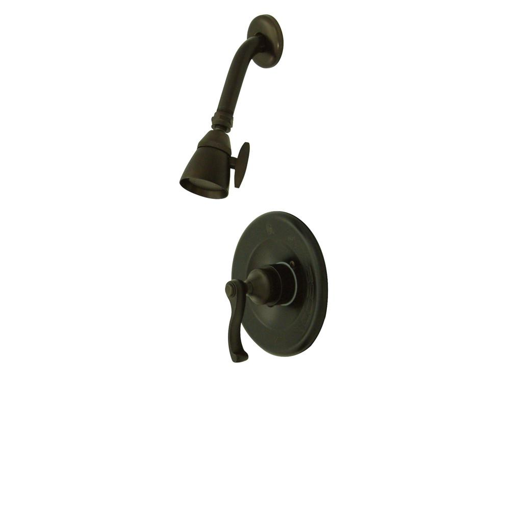 Kingston Royale Oil Rubbed Bronze Single Handle Shower Only Faucet KB8635FLSO