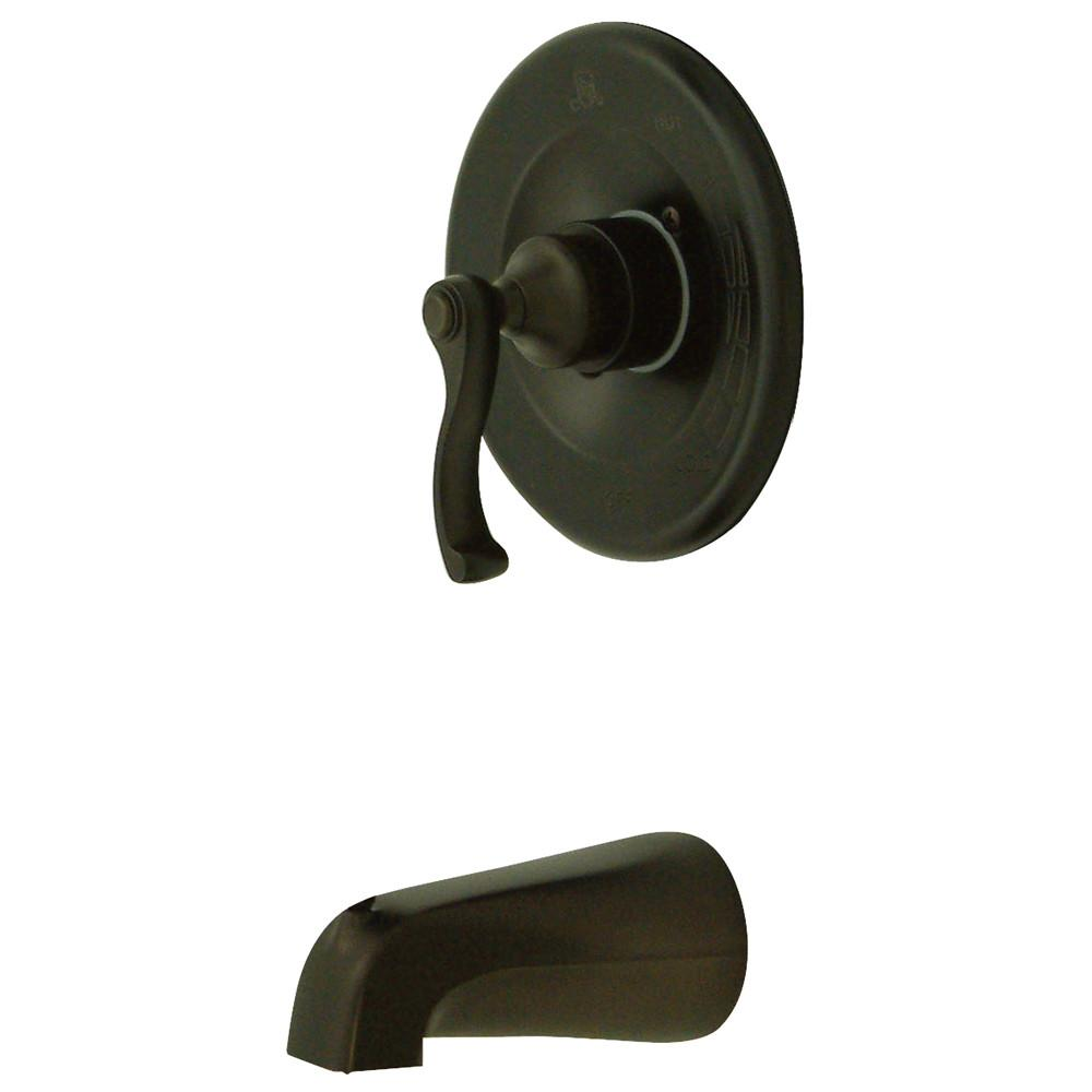Kingston Brass Royale Oil Rubbed Bronze Single Handle Tub Only Faucet KB8635FLTO