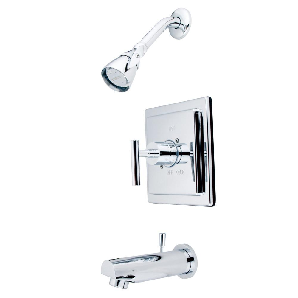 Kingston Brass Chrome Manhattan tub & shower Combination Faucet KB8651CML
