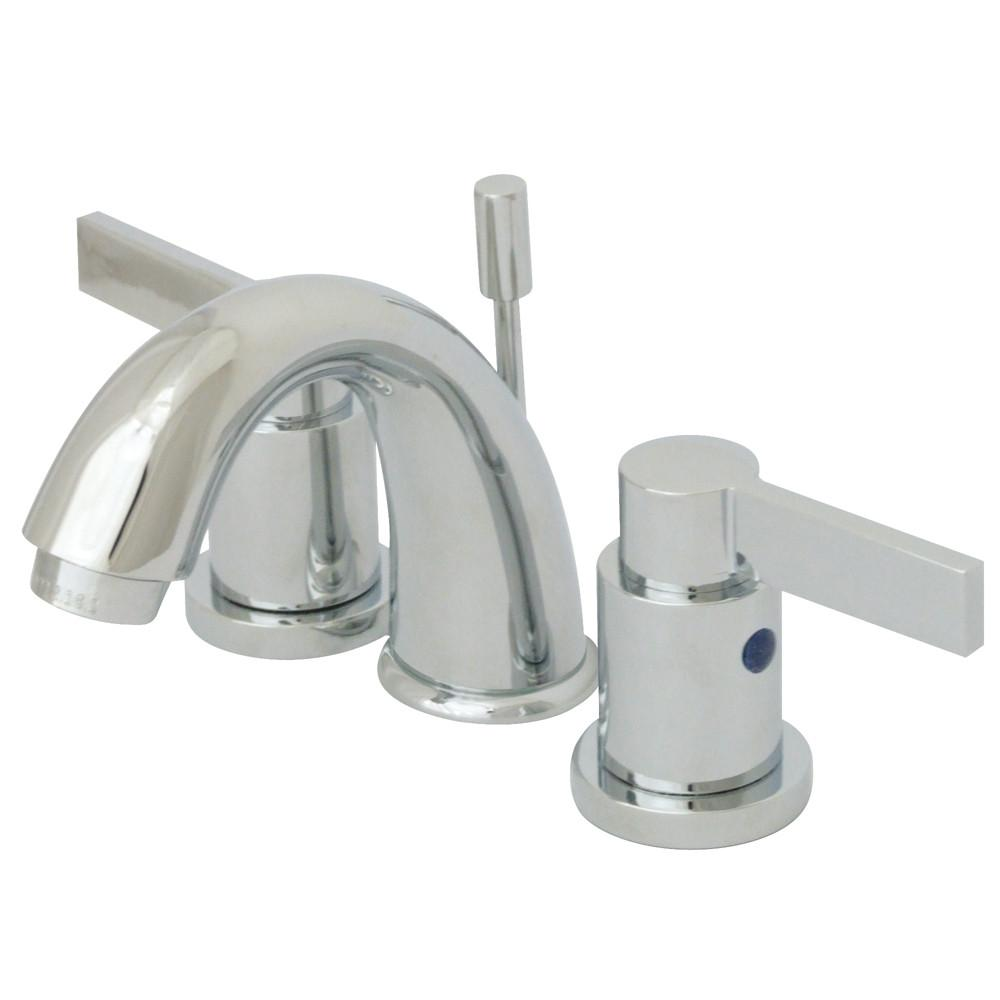 Chrome NuvoFusion Mini Widespread bathroom Faucet w/Pop-Up KB8911NDL