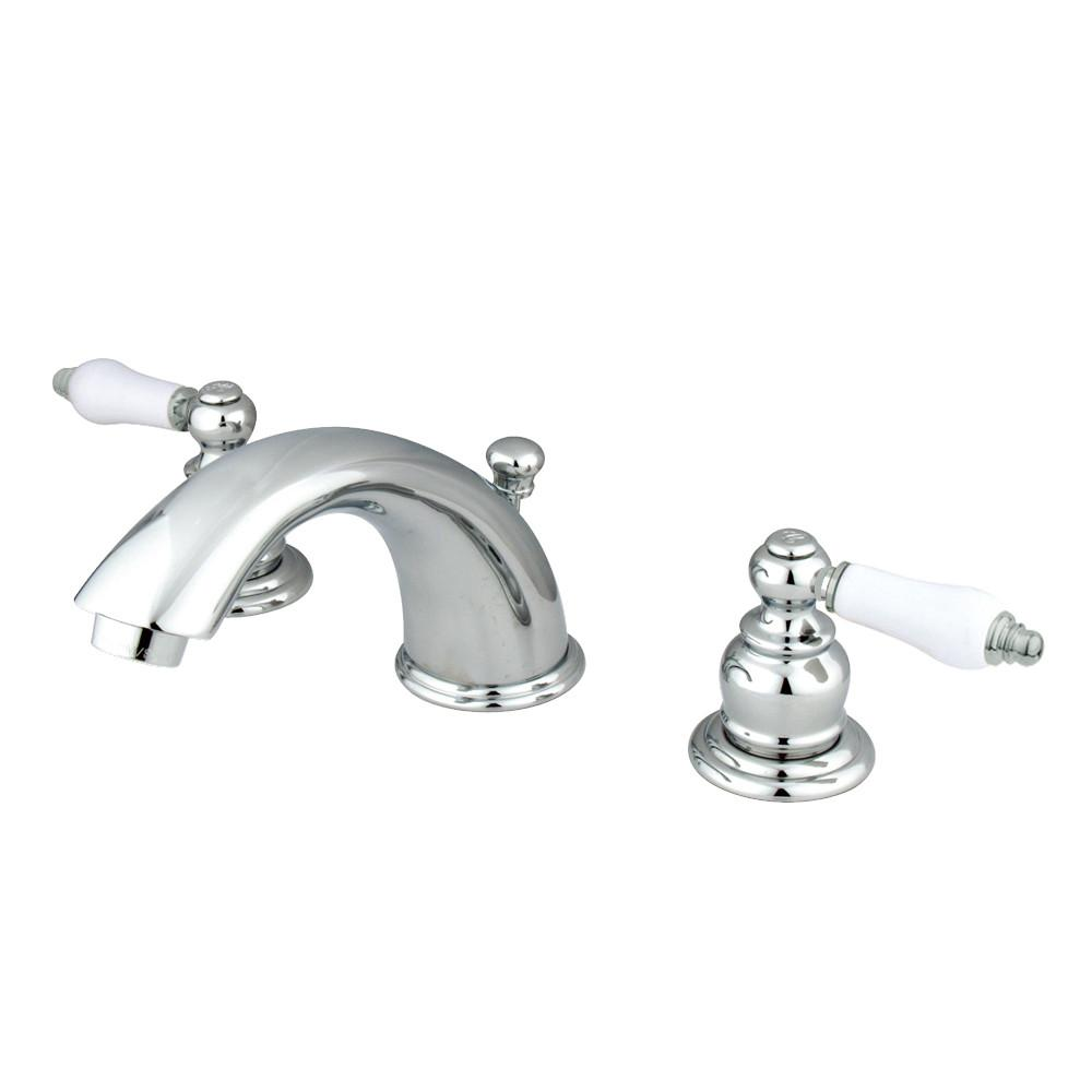 "Kingston Chrome 2 Handle 8"" to 16"" Widespread Bathroom Faucet KB961PL"