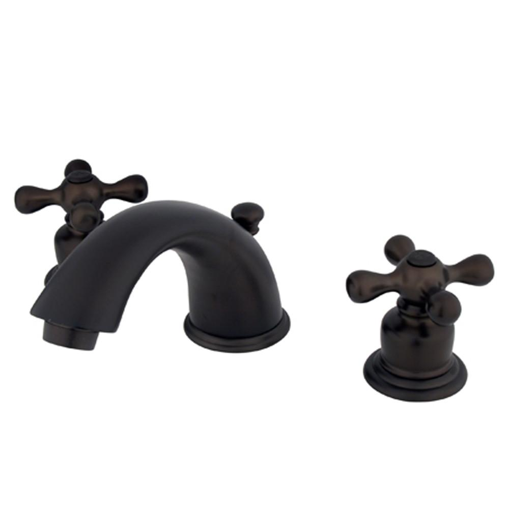 "Kingston Oil Rubbed Bronze 8""-16"" Widespread Bathroom Faucet KB965AX"