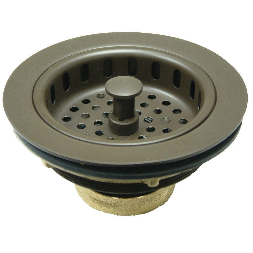 Kingston Oil Rubbed Bronze Made to Match Cast Heavy Duty Basket Strainer KBS1005