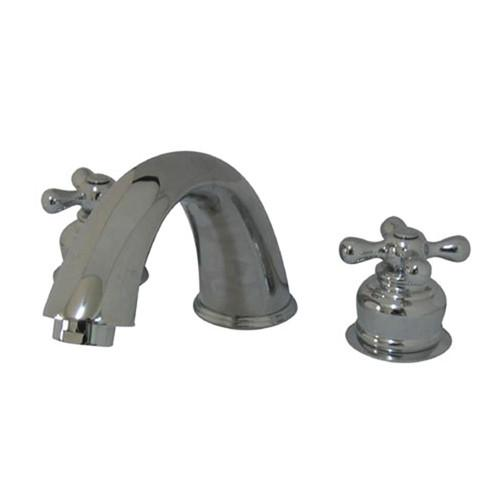 Kingston Brass Chrome Magellan Two Handle Roman Tub Filler Faucet KC371