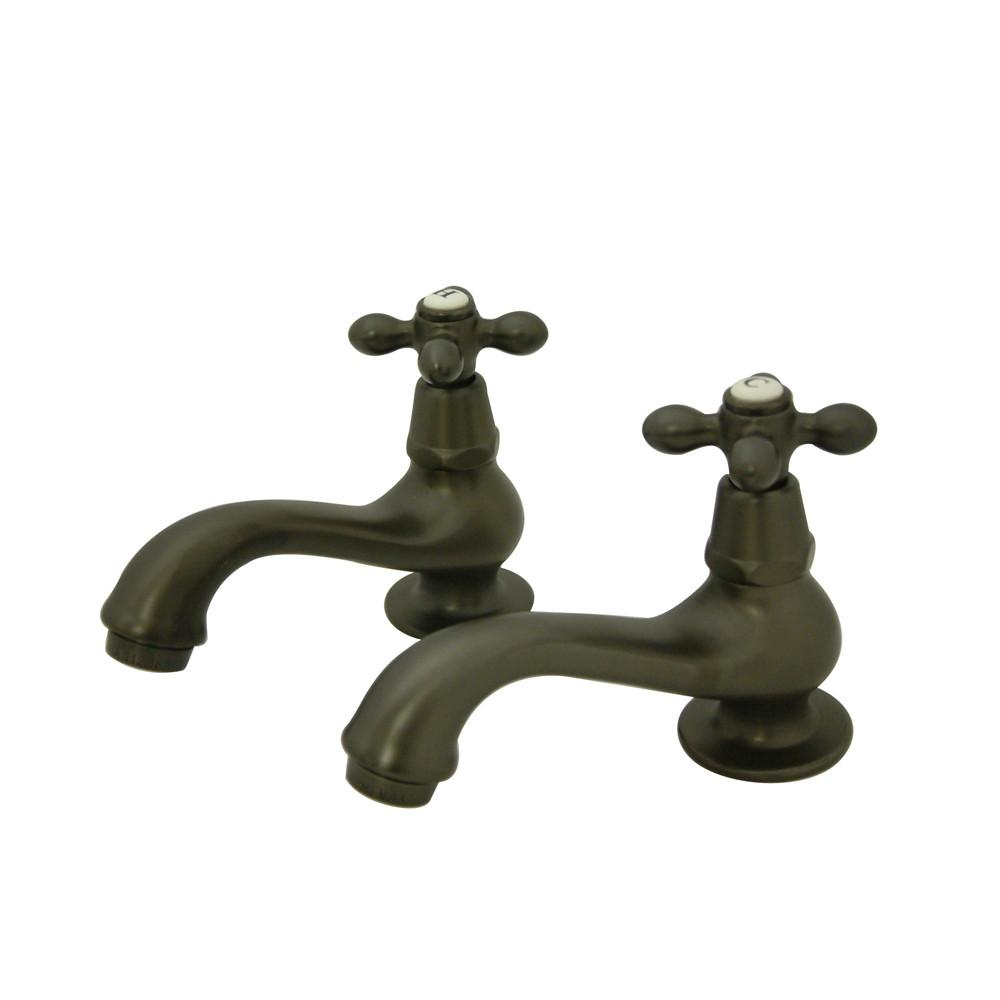 Kingston Oil Rubbed Bronze Basin Sink Vintage Style Bathroom Faucet KS1105AX