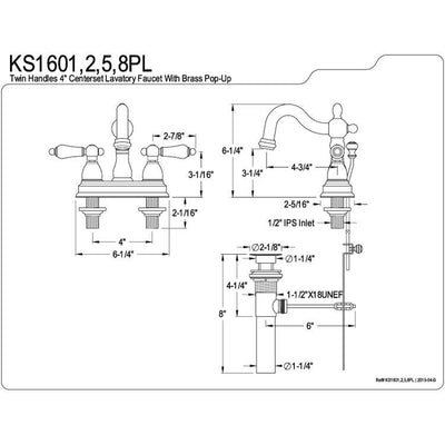 kingston oil rubbed bronze 2 handle 4 centerset bathroom faucet rh faucetlist com  circuit diagram boolean expression (a+b)(b+c)
