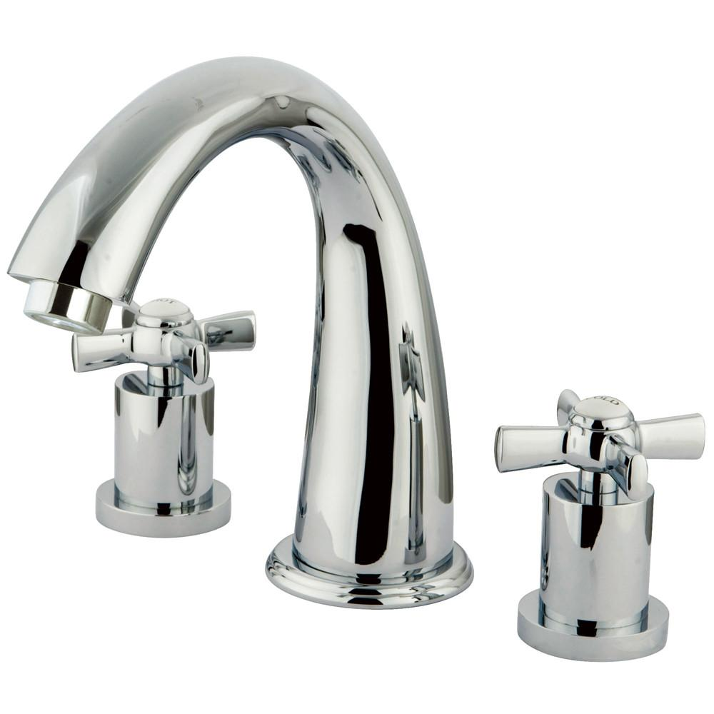 Kingston Brass KS2361ZX 2 Handle Roman Tub Filler Polished Chrome
