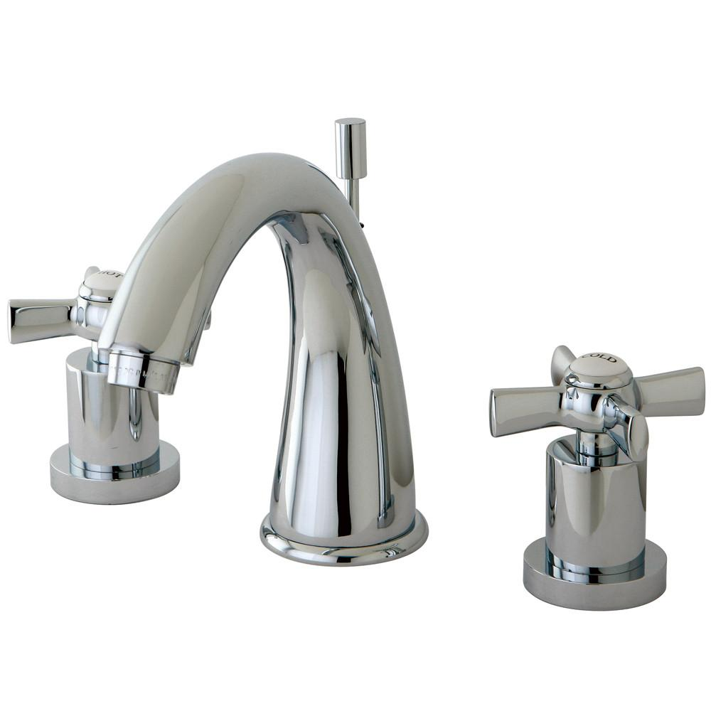 Kingston Brass KS2961ZX Widespread Bathroom Faucet Polished Chrome