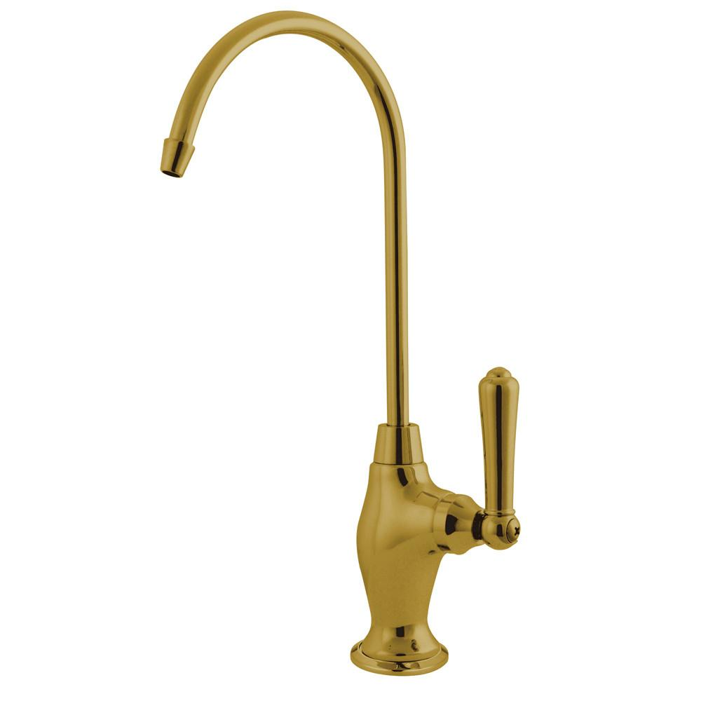 Kingston Polished Brass Magellan 1/4 turn water filtration faucet KS3192NML