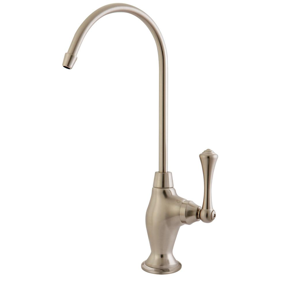 Kingston Satin Nickel English Vintage 1/4 Turn Water Filter Faucet KS3198BL