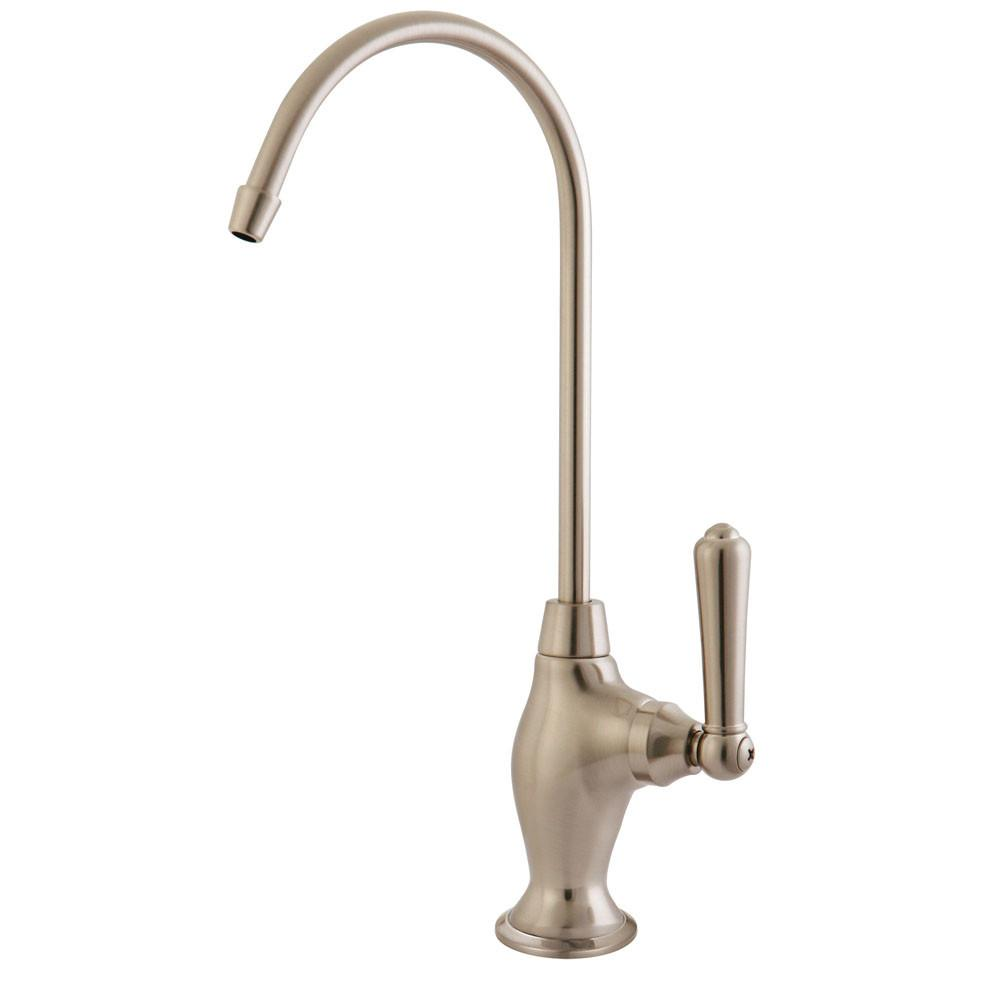 Kingston Satin Nickel Magellan design 1/4 turn water filtration faucet KS3198NML