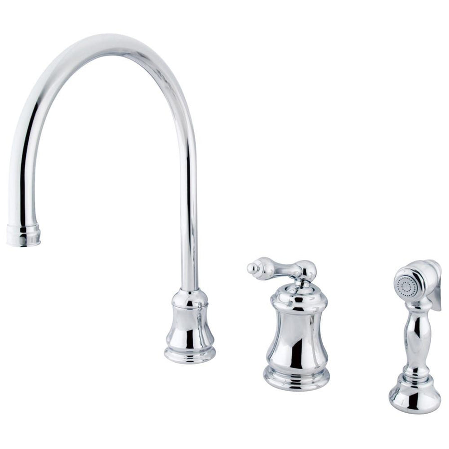 brass category faucets kitchen kingston sink faucet widespread